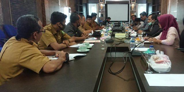Komisi I DPRD Kabupaten Kepulauan Meranti Gelar Rapat Kerja Bersama Disdukcapil