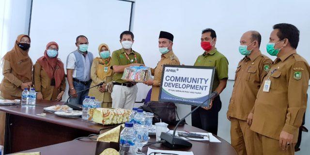 Wabup Pimpin Rakor Review Monitoring Pelaksanaan Antisipasi Stunting di Kepulauan Meranti