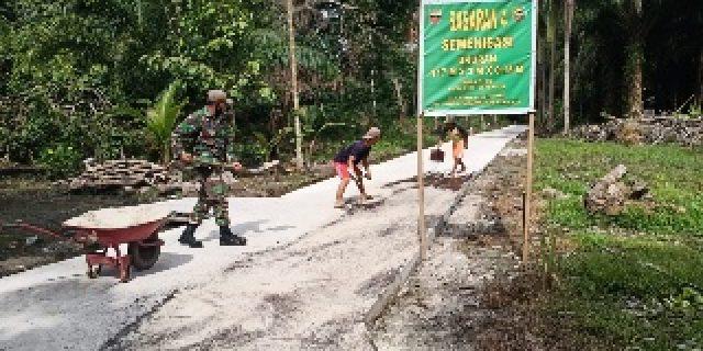 Dayat : kami Mengucapkan Ribuan Terimakasih Kepada TNI Kodim 0303/Bengkalis Yang Telah Melaksanakan Kegiatan Ini