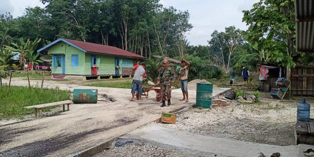Inf Tarman Sugianto : Pekerjaan Dengan Sempurna Akan Memberikan Hasil Yang Memuaskan Sehingga Dapat Dimanfaatkan Masyarakat