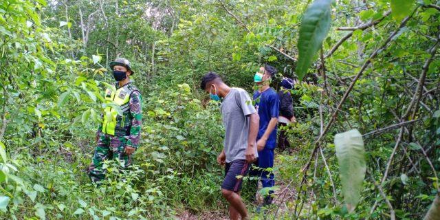 Patroli Karlahut, Babinsa Koramil 02/Tebing Tinggi : Pencegahan Dini Sangat Penting Dilakukan