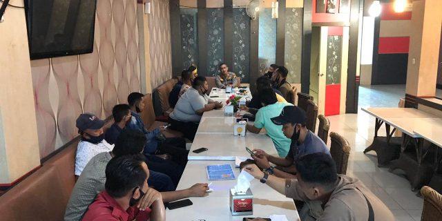 Kapolres Eko Wimpiyanto Silaturrahmi Bersama Rekan Pers Se Kepulauan Meranti