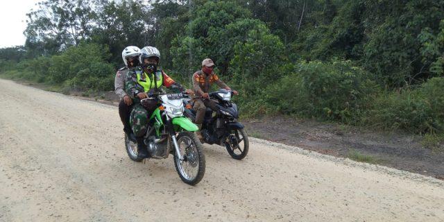 Sertu E.Sembiring : Keamanan di Wilayah Desa Supaya Terhindar Dari Karhutla, Patroli Sangat Penting Dilaksanakan