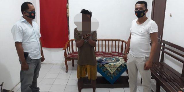 kantogi Sabu, Pemuda Siantar Ini di Amankan Polsek Kualuh Hilir