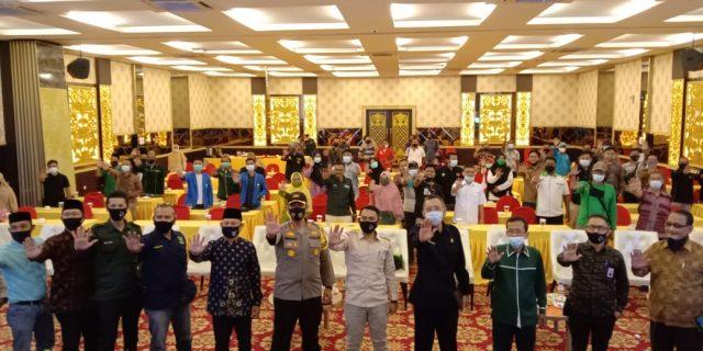 Bawaslu Kepulauan Meranti Sosialisasi Pengawasan Pemilu Partisipatif, Masyarakat Diminta Cerdas Menerima Informasi