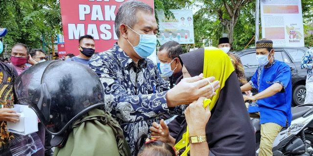 Polres dan Pemkab Meranti Bersinergi, Kampanyekan Protokol Kesehatan Covid-19