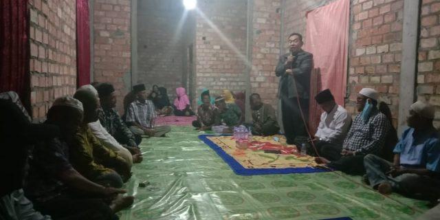 Bacalon Wabup Nuriman Khair Hadiri Undangan Tokoh Masyarakat Desa Banglas