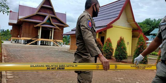 Salah Satu Petugas Keamanan Positif Covid-19, RTH LAMR Meranti Ditutup