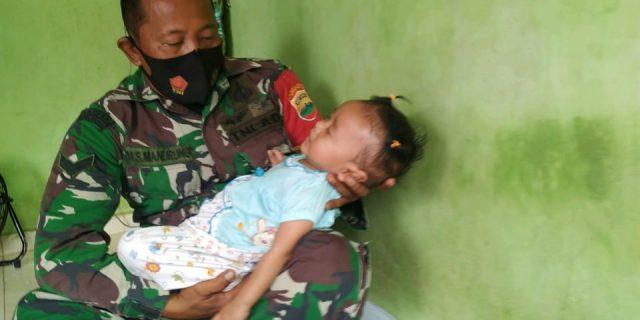 Babinsa Koramil 01/0315 Bintan : Puji Syukur, Akhirnya Nurdella Pulang Kerumah Usai Dirawat di RSUP RAT