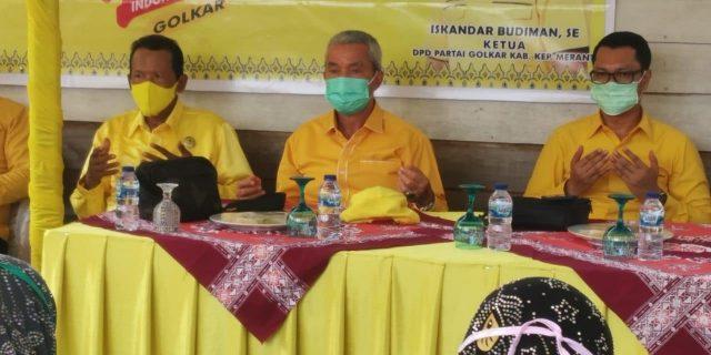 DPD Golkar Meranti Gelar Muscam di Dua Kecamatan Merbau dan Tasik Putri Puyu Berjalan Lancar