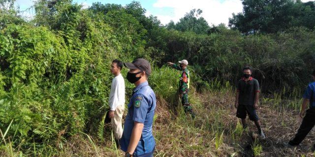 Babinsa Koramil 02/Tebing Tinggi Sosialisasi Tentang Bahaya Karhutla di Wilayah Binaan