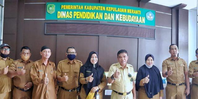 Kadisdik Syamsuddin Kumpulkan Korwil Se-Kepulauan Meranti, Ingatkan Bahaya Covid-19 dan Sosialisasi Penerapan Protokol Kesehatan