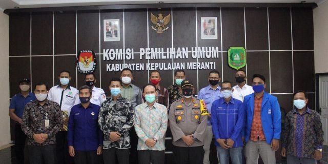 Dari 4 Paslon, KPU Kepulauan Meranti Tetapkan 3 Calon Bupati dan Wakil Bupati