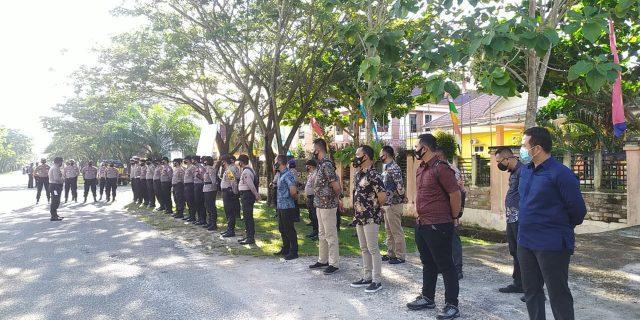Amankan Pleno Penetapan Paslon, 93 Personil TNI-Polri Distanbykan