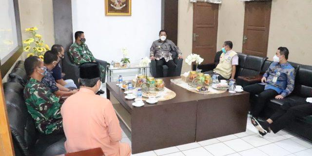 Pjs. Gubernur Kepri Berikan Pujian dan Apresiasi ke Dandim 0315/Bintan terkait Penerapan Protkes
