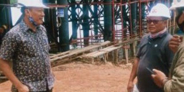 Persiapan jalan dan jembatan 2, Pulau Dompak Sudah Semakin Maksimal