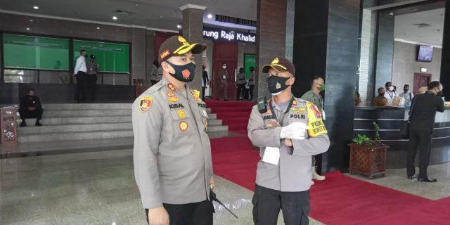 Kerahkan 234 Personel, Polres Tanjungpinang Lakukan Pengamanan Rapat Paripurna DPRD Provinsi Kepri