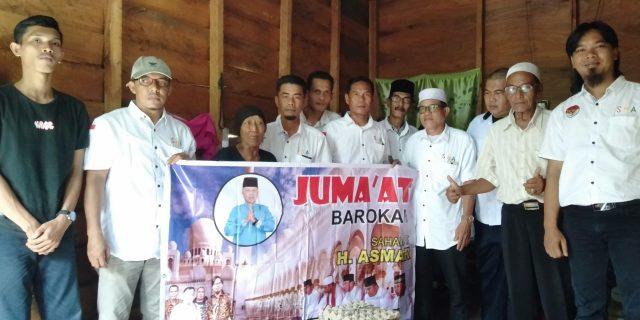 Jum'at Barokah Kali Ini, Sahabat Haji Asmar Sambangi Kediaman Janda 70 Tahun
