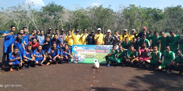 Turnamen Sepak Bola Baran Melintang Cup I Resmi Dibuka