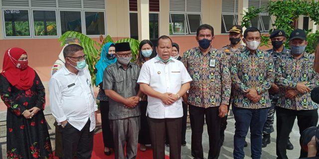 Balai PPW Provinsi Riau Serahkan Pengelolaan Renovasi 18 Sekolah di Kepulauan Meranti