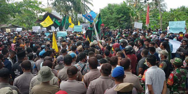 Unjukrasa di Kantor DPRD Kepulauan Meranti Sempat 'Memanas'