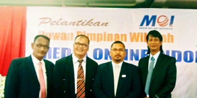Belasan Wartawan di Meranti ikuti Bimtek UKW MOI Riau