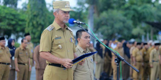 Wabup Ingatkan Pegawai Tingkatkan Disiplin Jangan Keluyuran Pada Jam Kerja