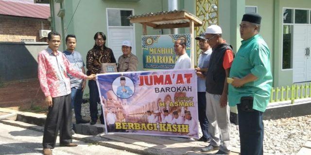 Mantap, H.Asmar Akan Gelar Jum'at Barokah Menjadi Agenda Rutinnya