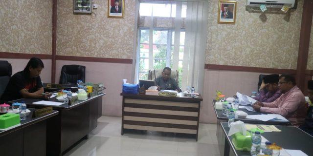 Bahas Insentif Pegawai Dan Gaji Honorer, Komisi II DPRD Meranti Panggil Rakor BPKAD