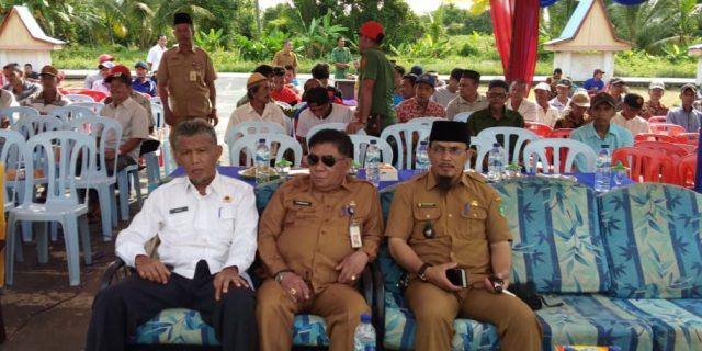 Asisten I Meranti, Hadiri Sosialisasi PTSL di Rangsang Barat