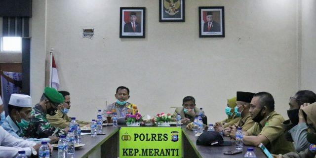 Menuju New Normal, Pemkab Meranti dan Polres Bentuk 10 Kampung Tangguh Nusantara Covid-19