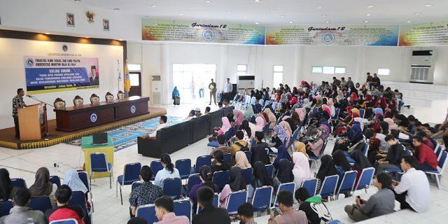 Ketua DPRD Kepri,Jumaga Nadeak Berikan Kuliah Umum di Umrah Dompak