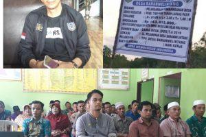 Kades Penti Bantah Adanya Proyek Siluman di Desa Baran Melintang