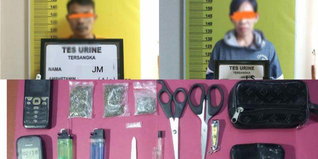 Sat Res Narkoba Polres Meranti berhasil Ungkap Pelaku Diduga Bandar Narkotika Jenis Ganja