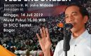 Jokowi Malam Ini Akan Sampaikan Visi Indonesia Maju Dalam Pidato Kemenanganya