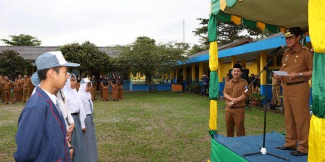 Wagub Kepri,H.Isdianto : Hindari Narkoba dan Tegakkan Disiplin