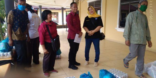 Polres Labuhanbatu Salurkan Paket Lebaran Kepada 136 Wartawan di Labuhanbatu