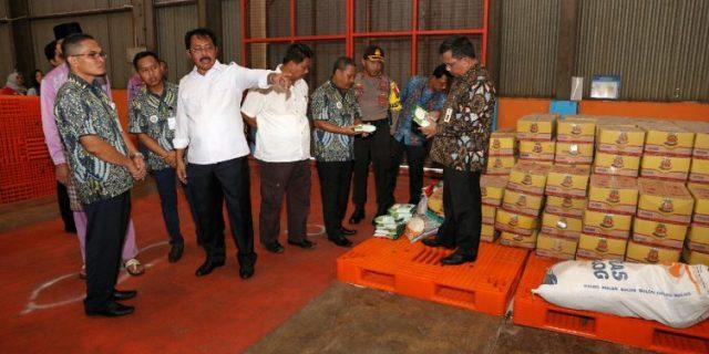 Gubernur Kepri,H.Nurdin Basirun,Launching Ketersediaan Pasokan dan Stabilisasi Harga Beras Tahun 2019