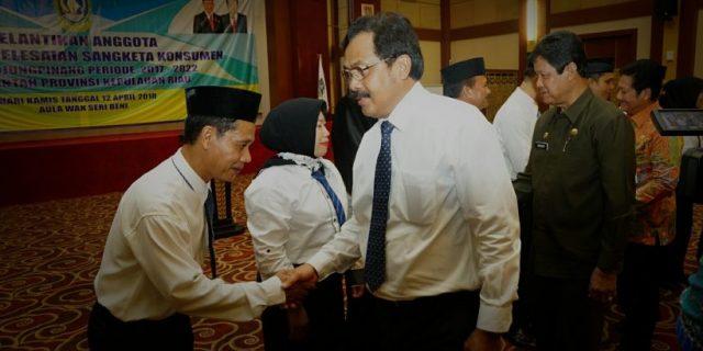 Lantik Anggota BPSK Kota Tanjungpinang,Gubernur Minta Beri Perlindungan Maksimal Kepada Konsumen