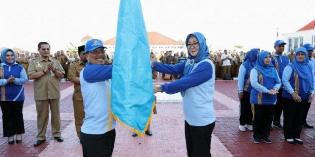 Sekda Pemrov Kepri,H.Arif Fadillah Lepas Atlet Korpri