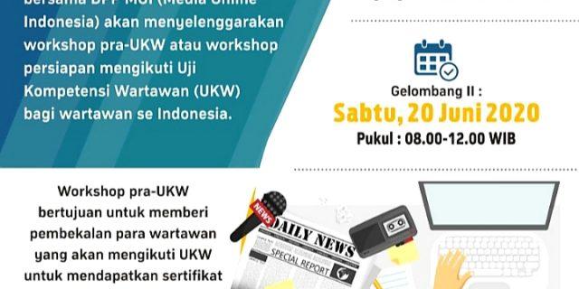 Sukses Gelar Workshop Pra UKW Virtual Angkatan I, Kini DPP MOI Gelar Angkatan II