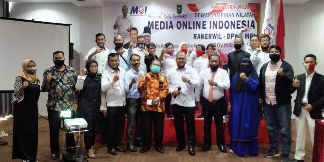 Bersempena HUT Ke II MOI, DPW MOI Riau Gelar Rakerwil, DPW Tinjau Ulang Pengurus DPC Yang Tidak Hadir