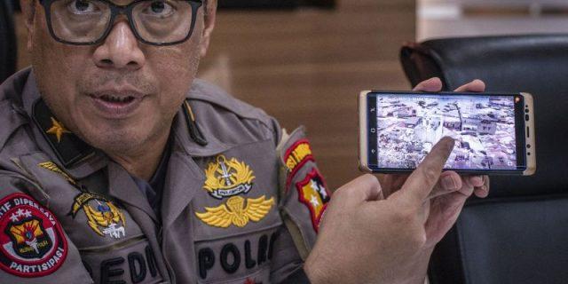 Tangkap Pemimpin Jama'ah Islamiah,Polisi Temukan 1Ton Bahan Peledak