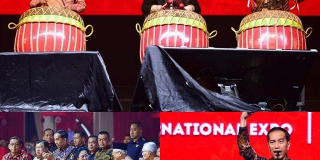 Buka Rakernas PDIP,Megawati Ingatkan Pentingnya Riset