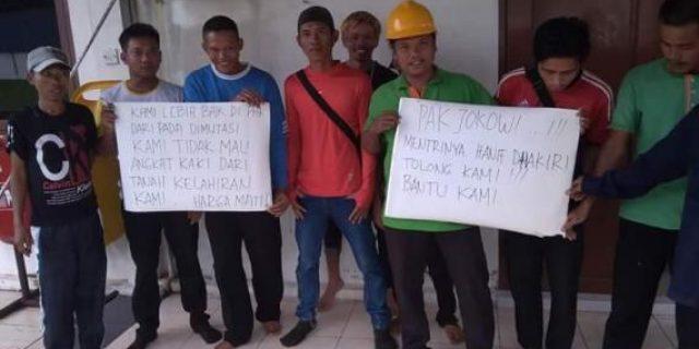 Tolak Dimutasi 14 Pekerja PT.NSP Selatpanjang Terancam Diusir