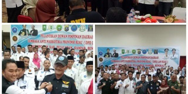 Ketua Umum DPP LAN Ibrahim Saehaia Resmi Lantik DPD Dan DPC LAN Se-Provinsi Riau