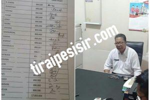 Diduga SPJ Fiktif,BPD Desa Dan Penanggung Jawab Pelaksana Sebut Tak Tau Apa Apa