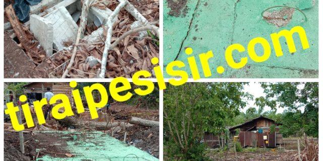 Program APBN MCK Komunal Di Tanjung Padang Terkesan Asal Jadi Alias Mubazir
