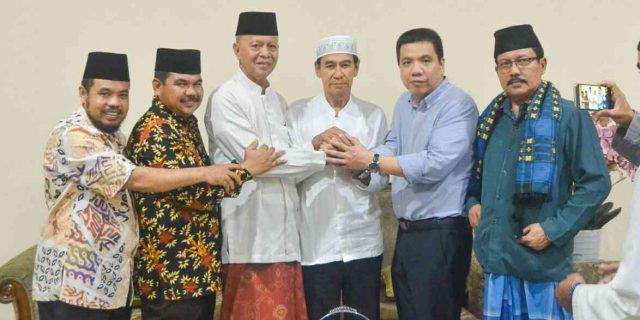 Rudy Chua Silaturahmi ke Rumah Syahrul