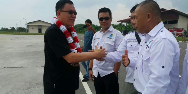 DPC AJO Indonesia Natuna Sambut Ketua DPD Kepri,Jhonny Pakkun